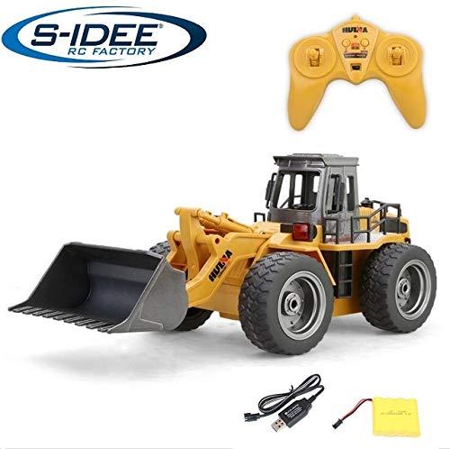 s-idee® 18146 S1520 Rc Radlader Bagger 1:18 mit 2,4 GHz schwenkbare Schaufel Huina 1520*