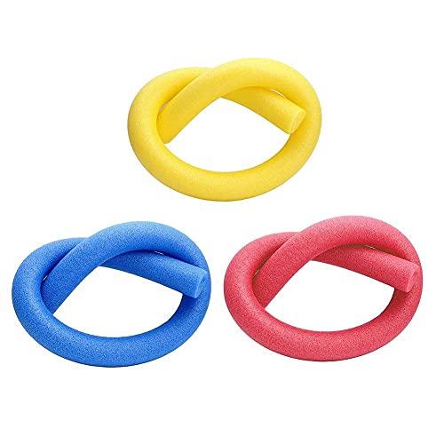 Días del Verano Paquete De Tres Multipack Espuma Piscina Fideos Ideal como Float Nadada por Casualidad Deportes De Agua En Color