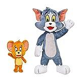 Tom & Jerry Plush Bundle: 12' Tom & 5' Jerry