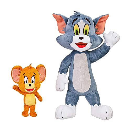 Tom & Jerry 14453 - Pacchetto di peluche, 30,5 cm, Tom & Jerry 12,7 cm