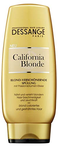 Balsamo da risciacquare per capelli biondi, Dessange California Blonde, 200ml