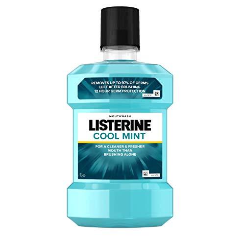 Listerine Cool Mint Mundspülung, 1- er Pack (1 x 1L)