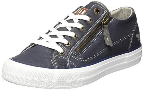 Mustang 1272-305-800, Sneakers Basses Femme, Bleu (Dunkelblau 800), 38 EU