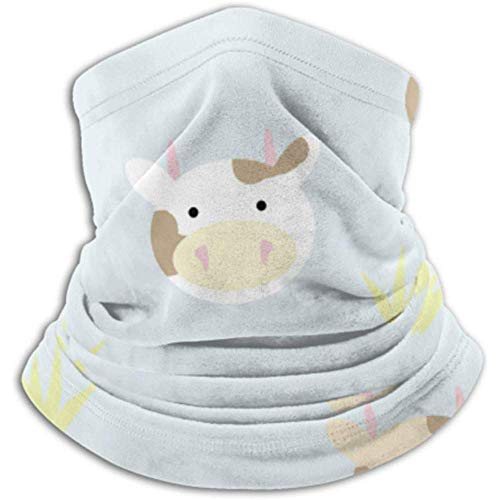 Xian Shiy Kuhmuster-Schal, Vollmaske oder Hut, Halsmanschette, Halskappenmaske, Halbmaske, Gesichtsmaske, Sturmhaube, Himmel