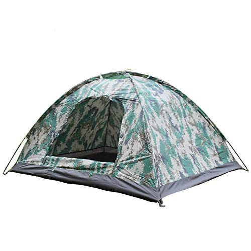 Mdsfe Double camouflage tent outdoor camping   portable mosquito net canopy   beach ultralight backpacking car 1 person hunting-Camouflage