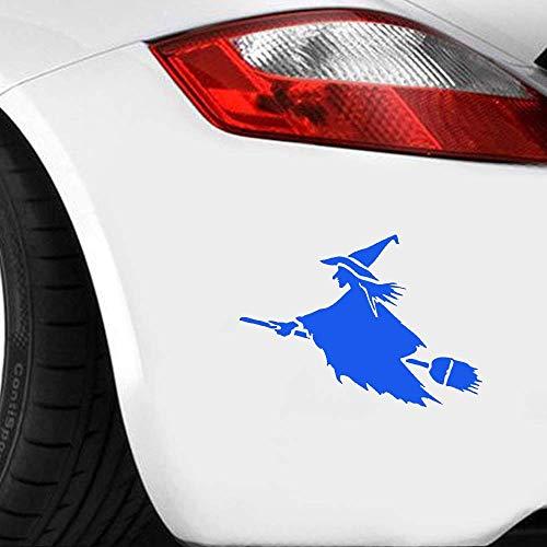Interessante Märchenfiguren Hexe auf fliegendem Besen Zauber Hochfester Autoaufkleber für Laptop Kayak Vinyl Aufkleber Wandaufkleber Kinderzimmer wandaufkleber 3d