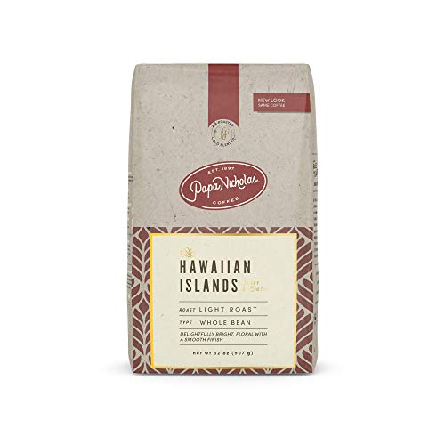 PapaNicholas Coffee Whole Bean Coffee, Hawaiian Islands Blend, 2 Pound
