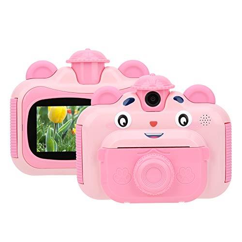 Instant Printcamera voor Kinderen, Draagbare Digitale Creatieve Printcamera met Printpapier voor Kinderen…