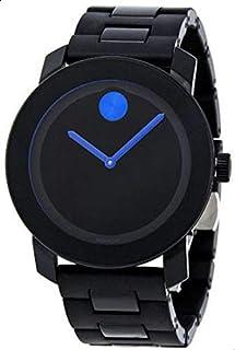 Movado Bold 3600099 Black TR90 Polyurethane Bracelet Unisex Watch