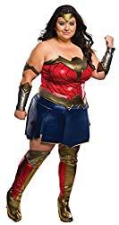 Wonder Woman Plus Size Costume For Bigger Women