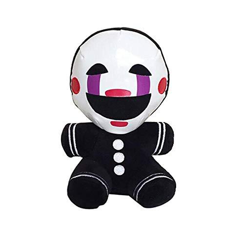 LuBHnna Five Nights at Freddy's Plüsch-Albtraum Freddy Bonnie Chica Marionette FNAF Plüsch-Kinderpuppen- Geschenke für FNAF-Fans 8 Zoll