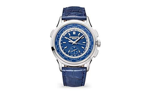 Patek Philippe Complications White Gold 5930G-010 with Blue Dial
