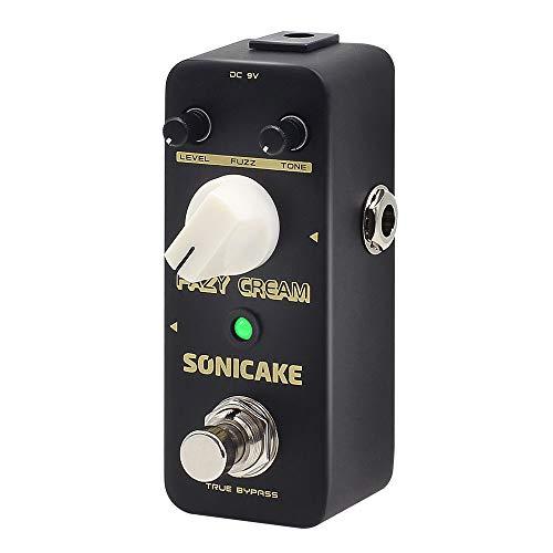 SONICAKE Fuzz Gitarre Effektpedal Fazy Cream True Bypass Vintage