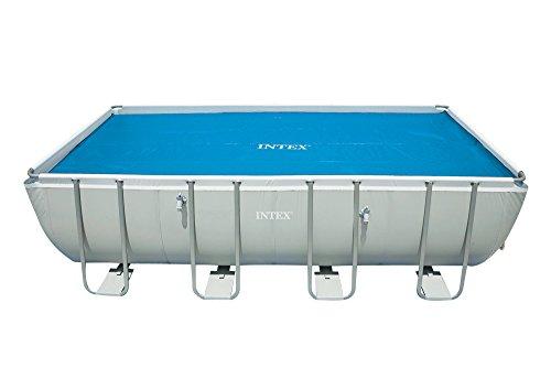 Intex Solarplane Pool-Abdeckung für eckigen Frame Pool 5,49x2,74m