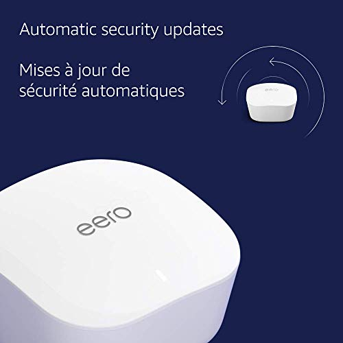 Introducing Amazon eero mesh wifi system – router for whole-home coverage (3-pack)