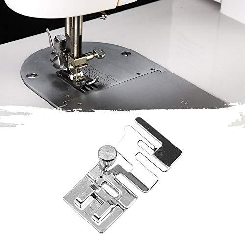 Ajuste rápido con banda elástica Tela de empalme de encaje Máquina ...