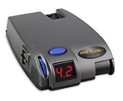 Utilizes Plug-N-Play port for 2-plug adapters Self-diagnostics features will illuminate LED readout when issues occur Works proportionally in reverse Includes a Boost feature Snap-in dash mounting clip and hardware included