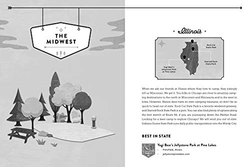 Where Should We Camp Next?: A 50-State Guide to Amazing Campgrounds and Other Unique Outdoor Accommodations (Perfect Christmas Gift for Campers and Outdoorsy People)