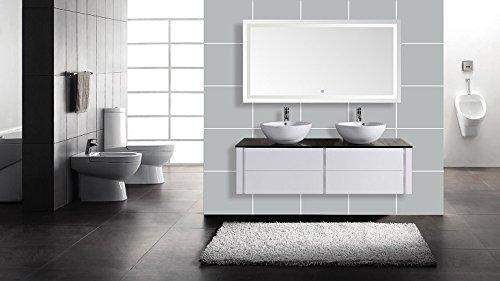 Design Badezimmermöbel Waschtischkombination LED Spiegel Waschbecken | HL1403