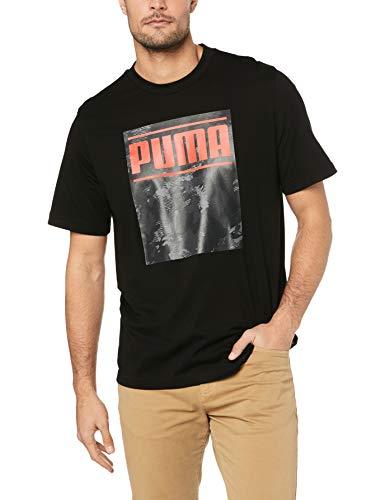 Puma Camo Pack Logo Tee - Colore - Nero, Misure - L