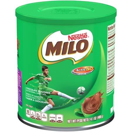 Milo Instant Malta Chocolate en polvo 400 g (paquete de 1/2/3/4/6) 6