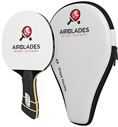 AB-5000 5 Star Professional Ping Pong Paddle for Indoor and Outdoor Table Tennis with Carry Case