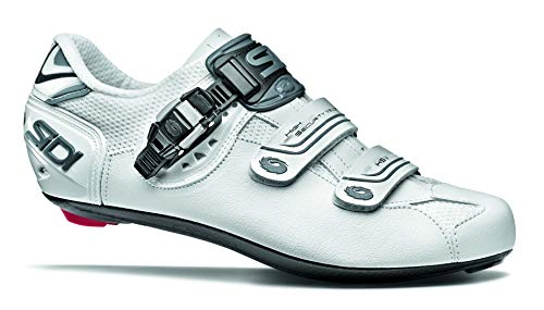 SIDI Shoes Genius 7 Mega, Scape Cycling Man, White Shadow Blk Liner, 42.5