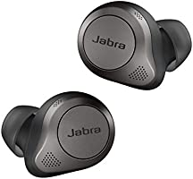 Jabra Elite 85t True Wireless Earbuds - Jabra Advanced Active Noise Cancellation with Long Battery Life and Powerful...