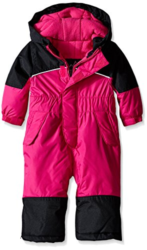 iXtreme Baby Girls' One Piece Snowmobile, Berry, 18 Months