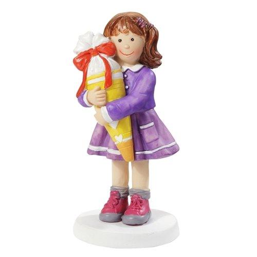 Mädchen mit Schultüte 8,5 cm