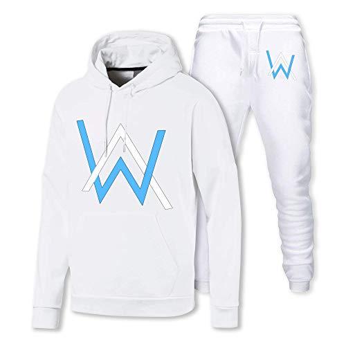 Alan Walker - Sudadera con capucha con logotipo azul para hombre y mujer