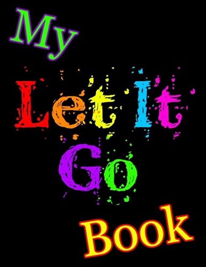 架空の膿瘍巨人My Let It Go Book: Discreet Internet Password Keeper, Large Print Book, 8 1/2