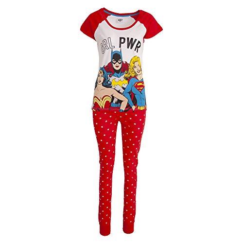 Pijama DC Superheros para mujer, tallas 8-22
