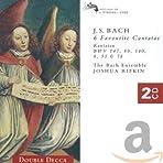 Bach: 6 Favourite Cantatas (BWV 147, 80, 140, 8, 51 & 78) /Rifkin