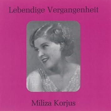 Lebendige Vergangenheit - Milza Korjus