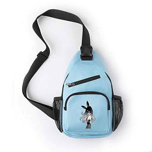 Brusttasche Handtasche Ariana Grande Polyester Crossbody Reisetasche für männliche und weibliche Studenten mit...