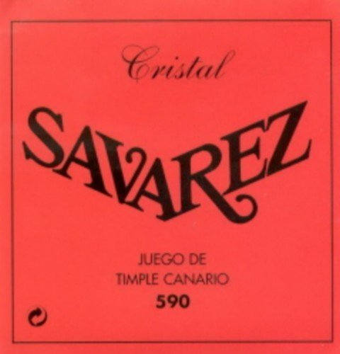 CUERDAS TIMPLE CANARIO - Savarez (Timple 590) Crystal (Juego Completo) Unidades Sueltas