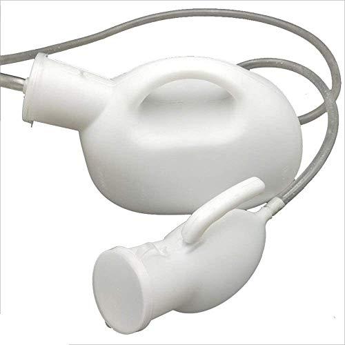 Portable urinoir Urinoir grote capaciteit 2000ml Mannen Urinoir Portable Urinoir Hospital Care lange afstand rijden Huishoudelijke Plastic urinoir met deksel, Trechter, waterdicht urinoir Travel lekvr