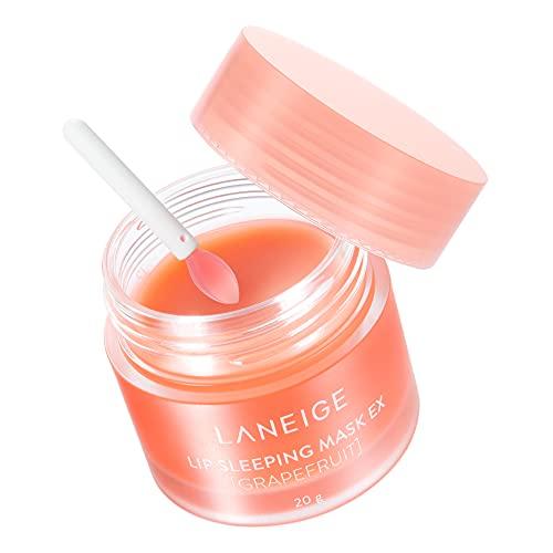 【公式】LANEIGE(ラネージュ) リップスリーピングマスク EX_Grapefruit 韓国コスメ 唇パック ナイトリペアリップマスク(高保湿・角質ケア・唇荒れ・皮むけ乾燥対策 リップクリーム (グレープフルーツ) 20g