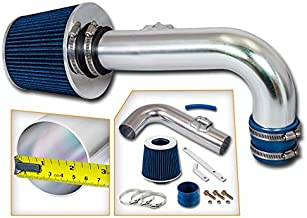 Rtunes Racing Short Ram Air Intake Kit + Filter Combo BLUE Compatible For 11-15 Chevy Cruze 1.4L Turbo / 12-15 Chevy Sonic 1.4L Turbo …