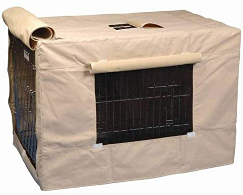 Precision Pet Indoor Outdoor Crate Cover for Size 2000 Crates Tan