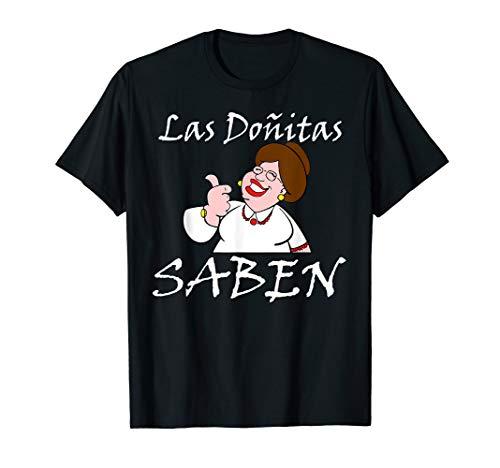Las donitas saben: funny t'shirt