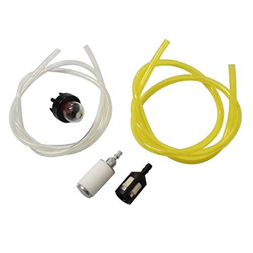 Rasentrimmer Reparatursatz Snap Primer Kraftstoffleitung Kraftstofffilter Kit für McCulloch