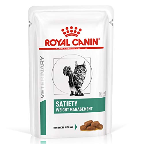 zoodiscount 48x85 g Royal Canin Satiety Support Weight Management Frischebeutel für Katzen