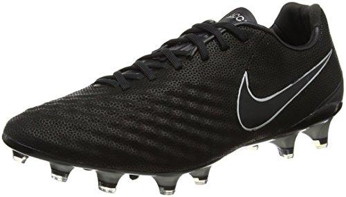 Nike Magista Opus II TC FG, Botas de fútbol Hombre, Negro (Black/Black), 41 EU