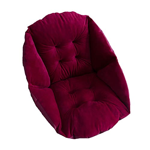XER Comfort Wheelchair Cushion Total Wheelchair Pillow Thick Chair Pillow Back Sciatica Relieve Cushion for Armchairs, Office Chairs and Wheelchairs,D