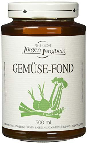Jürgen Langbein Gemüse-Fond, 6er Pack (6 x 500 ml)