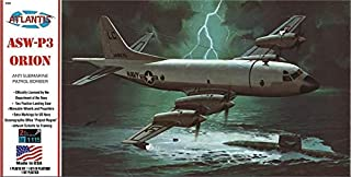 P3A Orion Aircraft Plastic Model Kit Atlantis Toy and Hobby