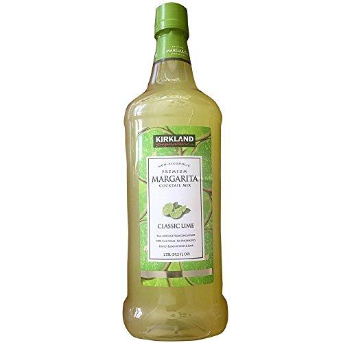 Kirkland Signature Premium Margarita Cocktail Mix - Non-Alcoholic - CLASSIC LIME / 1.75l., 59.2 Fl. Oz.