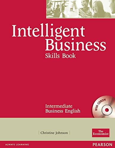 Intelligent Business Intermediate Skills Book with CD-ROM: Industrial Ecology